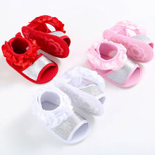 Cute Baby Flower Sandals Toddler Shoes Princess First Walkers Girls Cloth Shoes