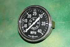 Vintage Stewart Warner Knot Speedometer Chris Craft Wooden boat Flathead Rat Rod