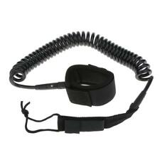 10-12' Surfboard Leash Stand Up Paddle Board Coiled Cord SUP Surfing Accessories