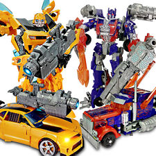 Transformers 4 Grimlock Bumblebee Optimus Prime Slag Toy Car Action Figures New