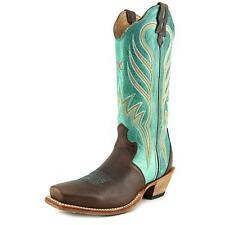"Twisted X Steppin' Out 13"" Women  Square Toe Leather Brown Western Boot"