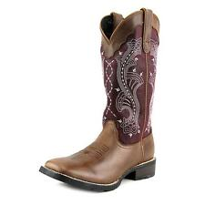 Durango Mustang Women  Square Toe Leather Brown Western Boot