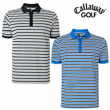 CALLAWAY GOLF CORE CHEV STRIPED POLO SHIRT