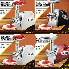 Heavy duty 2800w Electric Meat Mincer Grinder Stainless Sausage Kubbe Maker