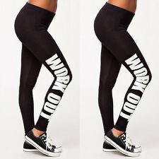 Sexy Yoga Womens Sports Gym Running Fitness Pants Athletic Leggings Clothes S481