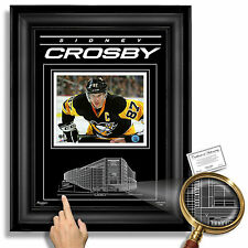 SIDNEY CROSBY Pittsburgh Penguins PPG Paints Arena - Archival Etched Glass™