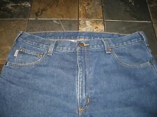 CARHARTT SZ 38 x 30 RELAXED FIT BLUE JEANS EUC