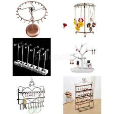 Necklace Watch Ring Earrings Jewellery Display Stand Holder Case Organizer Rack
