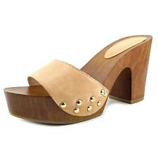 Jessica Simpson Karema   Open Toe Leather  Slides Sandal NWOB