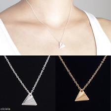 Harry Style Silver/Gold Plated Paper Plane Toward One Direction Pendant Necklace