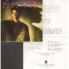 """EL DEBARGE Real Love 7"""" VINYL UK Motown 1989 With Press Release B/W House Mix"""