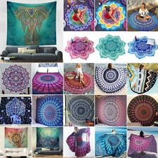 Indian Hippie Tapestry Wall Hanging Mandala Bedspreads Gypsy Blanket Beach Mats