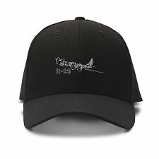 B-29 Aircraft Name Embroidery Embroidered Adjustable Hat Cap