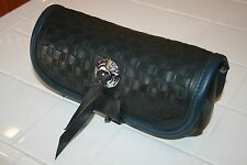 Genuine Harley Davidson FLSTS Touring Heritage Springer Windshield Bag Blue Trim
