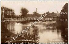 Bedfordshire Luton Wardown Park Suspension Bridge Old Photo Print
