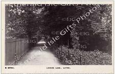Bedfordshire Luton Lovers Lane Old Photo Print - Size Selectable - England