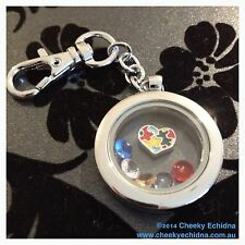 Floating Charm Awareness lockets (Autism, CP, Epilepsy, Cancer + more)
