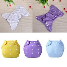 Adjustable Baby Cloth Diaper Reusable Waterproof Newborn Infant Nappies Cover