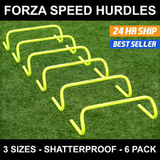6 x AGILITY HURDLES Football Soccer Speed Training [3 Sizes] [Net World Sports]