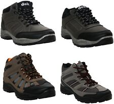 NEW MENS LACE UP MESH HIKING WALKING TRAINERS TREK TRAIL WORK BOOTS SHOES UK6-12