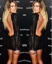 Woman Celebrity Sequins Party Mini Dress, Delivery In 16 Days.