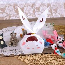 100 Cute Rabbit Bakery Cookie Gift Candy BAGS Wedding Easter Party Favors