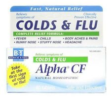 Boericke and Tafel Alpha CF for Colds and Flu tablets 40 tablets