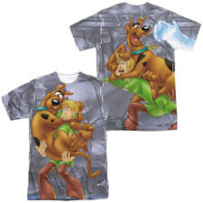 Scooby Doo Scooby And Shaggy Front And Back Sublimation Adult T Shirt