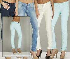 FIRETRAP LADIES MINT GREEN SKINNY FIT JEGGING JEANS IN SIZES 14 TO 18 BNWT