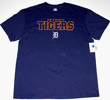 Detroit Tigers T-Shirt Adult size Large Navy New w/Tag