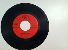 RARE DOO WOP- THE HARPTONES -  I'LL NEVER TELL - REISS(  45 RPM)   NEW    MINT