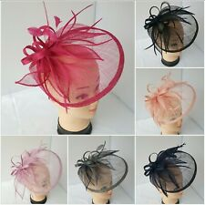 Large Headband Hat Fascinator Weddings Ladies Day Race Royal Ascot