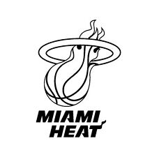 Decal Vinyl Truck Car Sticker - Basketball NBA Miami Heat