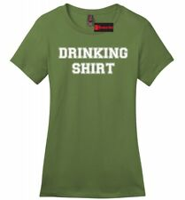 Drinking Shirt Ladies T Shirt College Party Tee Adult Humor St Patty's Party Z4