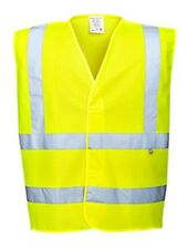 3 Pack - Portwest FR75 Hi-Vis FR Treated Vest Small Yellow