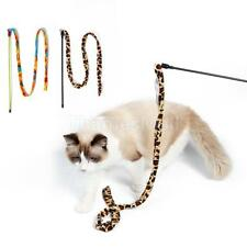 Cat Teaser Wand Chaser Stick with Bell Pet Kitten Meow Interactive Activity Toys