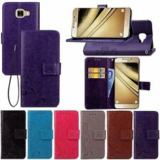 For Various Samsung Galaxy Phones Case PU Leather Protective Wallet Stand Cover