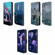 OFFICIAL RACHEL ANDERSON MERMAIDS LEATHER BOOK WALLET CASE COVER FOR LG PHONES 1