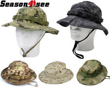 5 Color 1X Airsoft Paintball Tactical Hunting Outdoor Battle Rip Boonie Hat Cap