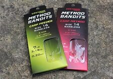 DRENNAN METHOD BANDITS FEEDER, METHOD, CARP COARSE FISHING*** MULTI LISTING***