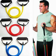 Home Workout Resistance Fitness Stretch Latex Tube Yoga Training Exercise Band