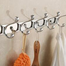 Stainless Steel Hook Wall Hanger Coat Hat Clothes Bag Holder Bedroom Towel Rack