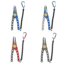 NEW Aluminum Fishing Pliers - Tackle Tool, Line Braid Cutters, Hook Remover