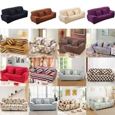 Modern 3-Seater Sofa Couch Slip Over Easy Fit Cover Elastic Protector 42 Styles