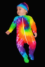 Tie Dye Baby Onesie Jumpsuit Growsuit Size 000, 00, 0, 1