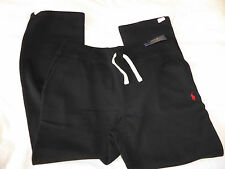 MENS POLO RALPH LAUREN BLACK SWEAT PANTS - SIZE LARGE - NEW WITH TAGS