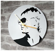 "Vinyl Record Wall Clock 12"" - Paul Weller Punk Rock Roll Mod"