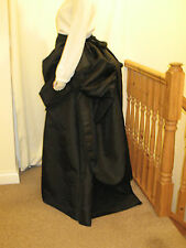 VICTORIAN / STEAMPUNK STYLE SKIRT & BUSTLE OVERSKIRT (All BLACK)
