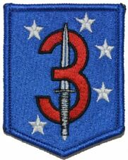 3d Marine Raider Battalion Patch Hook Backing MarSOC Shield USMC