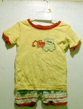 George Unisex Girls Boys Toddler Clothing Size 4T Outfit Set Top Shirt Shorts